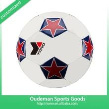 Branded Design Cheap Indoor Custom TPU/PVC/EVA/PU YNSO-003 Football Soccer Ball Size Weight