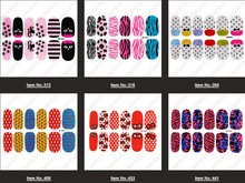 14pcs/set2014 Nail Decoration Nail Art Sticker Beauty Foil Wrap Decal Nail Patch -- NLP29