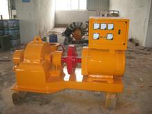 pelton hydro turbine generator,mini turbine generator,hydro turbine with excitation synchronous generator