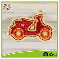 custom motorcycle embroidery designs for kids garment