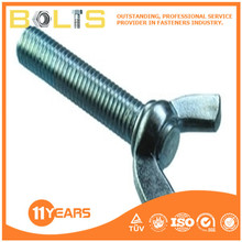 factory price din 316 galvanizing wing screw