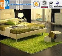 New fashion shaggy green grass carpet