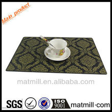 No smell eco-friendly table mat non-slip table mats made of felt for home decoration