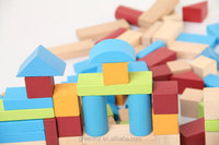 wood blocks building toy educational toys wooden castle