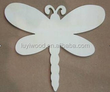 home decoration wooden product carved by different shape the shape can be customized