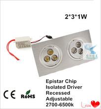 energy saver led lights recessed 6w adjustable led down light led downlighter
