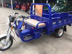 China wholesale double seat engine rickshaw three wheel tricycle with cargo box