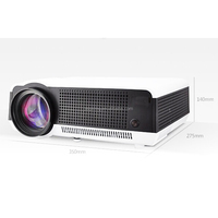 native 1280X800 home theater system projector led 5000 lumens