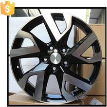 Competitive price ALUMINUM alloy wheel rim SIZE 17x8.5jj ET 20 H/PCD 5X112/120