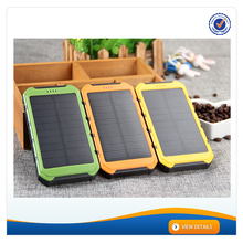 AWC607 8000mAh Portable Phone Solar Panel Charger For Samsung Mobile Phone