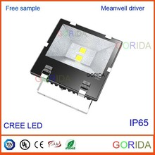 2015 rechargeable 100w led flood light