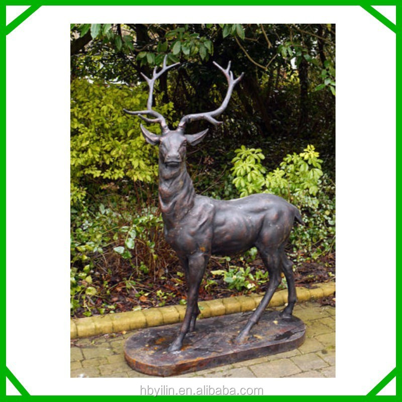 Outdoor Deer Statues Outdoor Bronze Deer Statue