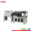 Professional auto high speed shrink wrapping machine with tray
