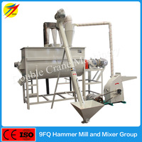Hot sale poultry chicken feed mixer machine and grinding equipment of grain, corn, soybean