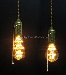 patent product!energy saving LED light bulb E27 vintage led lamp 3 watt dimmable glass