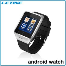 2015 New Products Super Slim 5.0MP Camera 3G watch phone wifi gps android gps watch phone