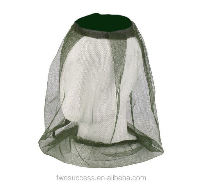 outdoor sports mosquito net hat .jpg