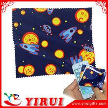 YB097 custom print microfiber cleaning cloth