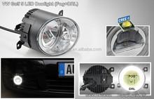 VW Golf V 04~05 headlights auto led driving light Golf 5 drl fog lamp