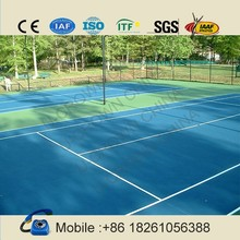 2015 new factory price patented tennis court