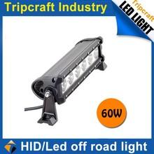 Fashion accessory!!60W 12V LED LIGHT BAR ,off road led light bar,driving light