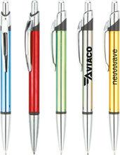 imprinted promotional pen aluminum ball point pen AL-9065