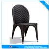 F-Modern garden armless and arm rattan dining chair (C-2063+C2063F )