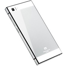 Toughened Glass Back Cover And Aluminum Frame For xiaomi mi3 mi 3 Luxury Mobile Phone Battery Case