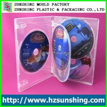 machine grade 14mm dvd case hold 1-6 disc