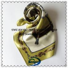 100% pañuelo de seda sarga estilo
