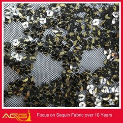 rose beaded sequins lace fabric 2014 new 100% polyester fashion wedding China Manufacturer decorative bamboo wallpaper