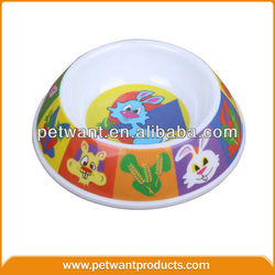Rabbit Water Bowls Pet Bowl Made Of Non-toxic Melamine
