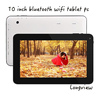 "10"" quad core Android 4.4 KitKat tablet pc 10inch 1GB RAM 16GB flash bluetooth front/rear cameras"