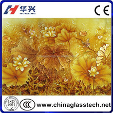 CE, CCC, ISO Factory Supply Tempered digital printing glass table top glass prices