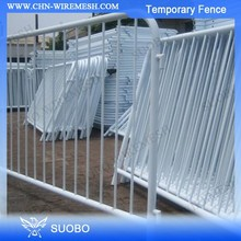 SUOBO Temporary Fence Wheel Rolling Temporary Gate Temporary Plastic Construction Wall Fence