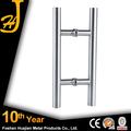 Tirador de puerta de vidrio de lujo moderno acero inoxidable 304 doble cara