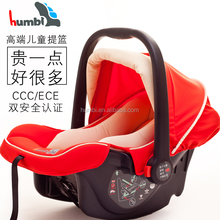 3 or 5 point safety harness infant car seat carrier with canopy