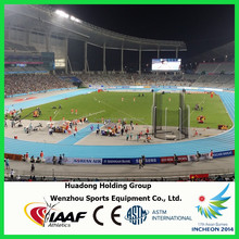 2014 Asian Games Supplier Outdoor Sports Flooring Rubber Running Track Surface