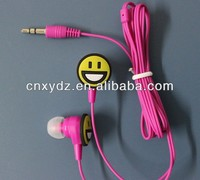 logo printing good quality low cost earpiece for ipad