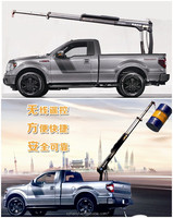 4 cylinder diesel pickup trucks with crane for sale