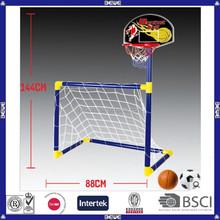 2015 new design portable basketball&football soccer goal