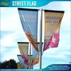 100% Polyester Custom Printed Street Flag