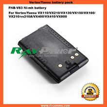 2 Way radio high capability battery replacement for Vextex VX-800