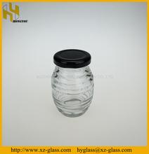 Alta qualidade 80 ml mel frasco de vidro design em xuzhou