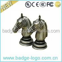 custom antique war horse fashion metal crafts