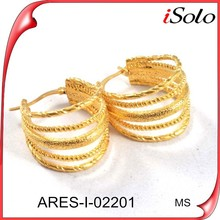perfect technology hot sale unique gold women&girls earring