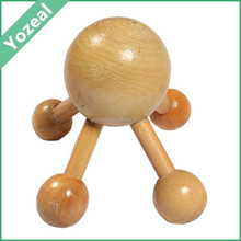 Best-selling wooden hand /handy head massager