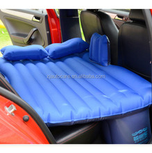 Love bed,pvc flocking inflatable air mattress,new design car inflatable car back seat mattres