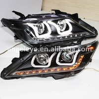 For Toyota Aurion Camry 2012-2013 Year LED U Style Front Lights LD