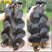 Hot selling brazilian human hair, remy hair extensions